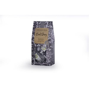 Herbata Vintage Teas Black Tea Earl Grey 20 piramidek 50g