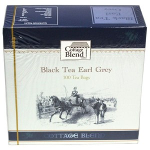 Herbata Cottage Blend Black Tea Earl Grey 150g