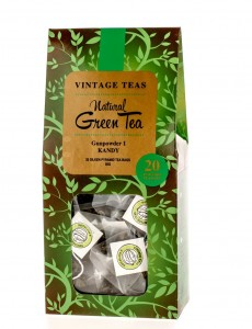 Herbata Vintage Teas Green Tea 20 piramidek 50g
